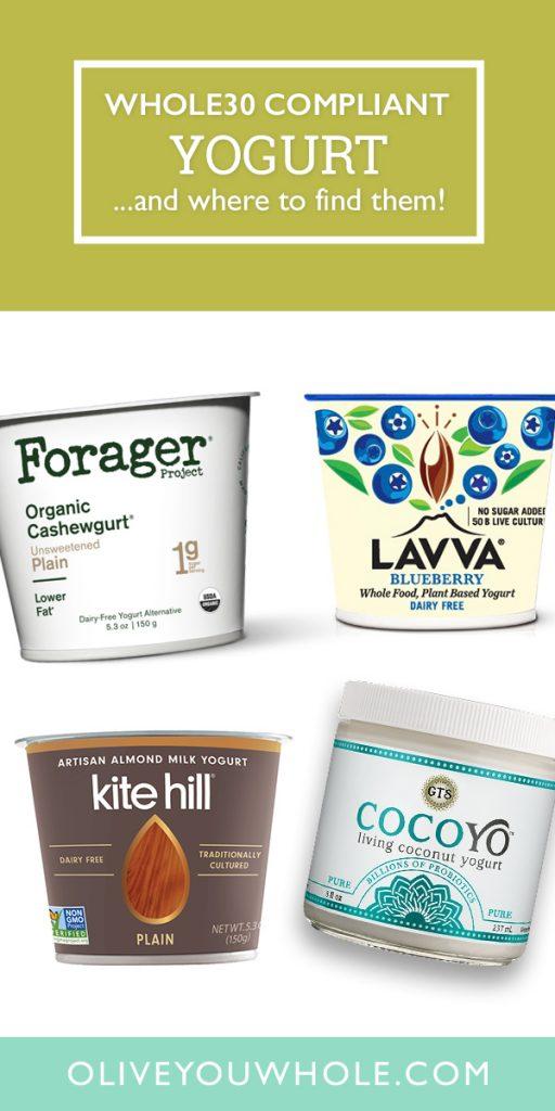 Whole30 Approved Yogurt Brands