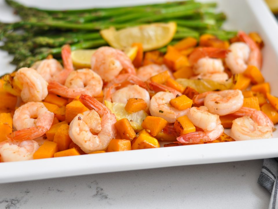 Shrimp and Squash Skillet 30 Minute Meal Recipe