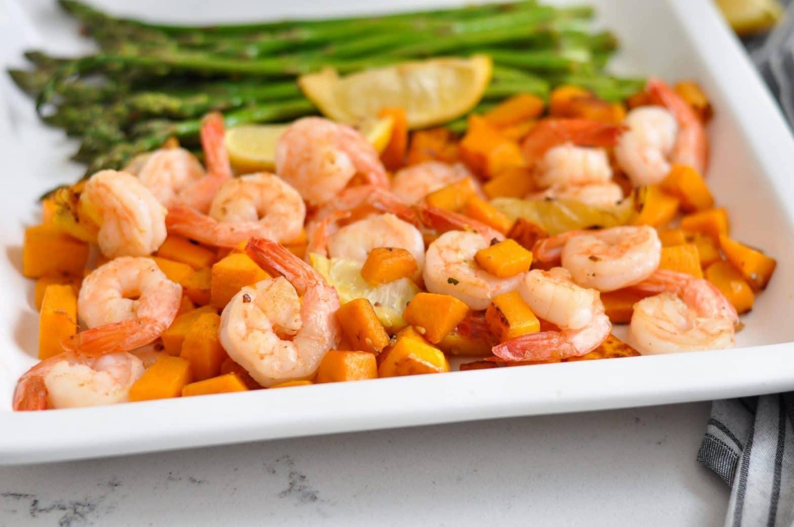 Shrimp and Squash Skillet 30 Minute Meal (Whole30 + Paleo)