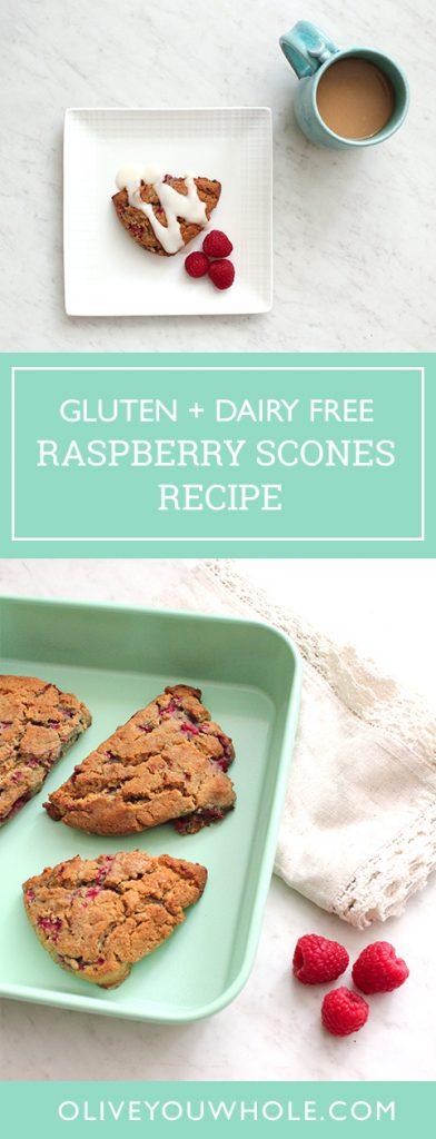 Gluten Free Raspberry Scones Recipe