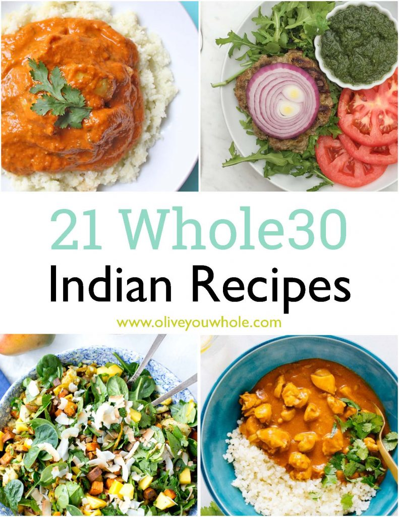 21 Whole30 Indian Recipes Pin