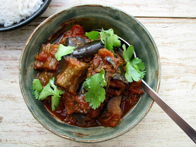 Eggplant Curry | Whole30 Indian Recipes