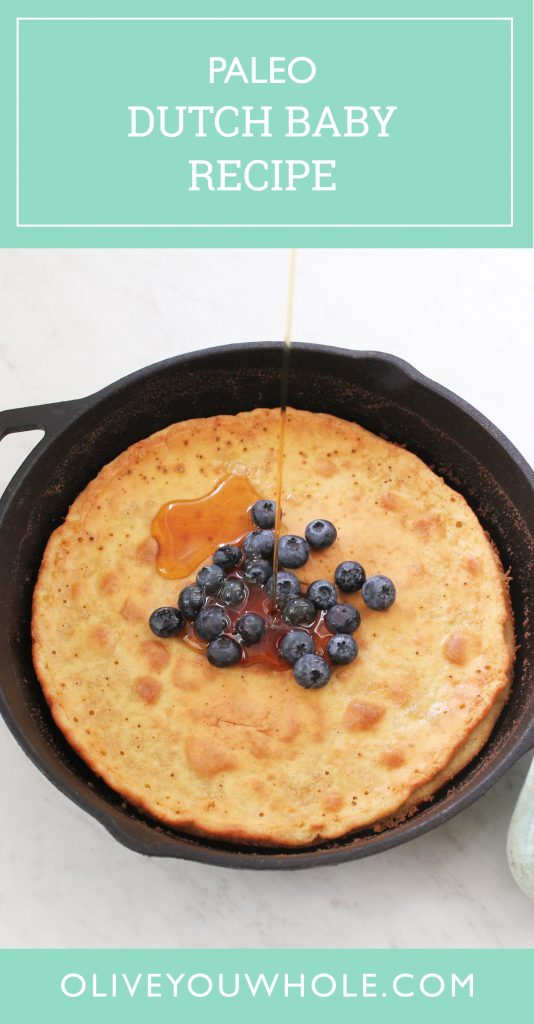 Paleo Dutch Baby Recipe