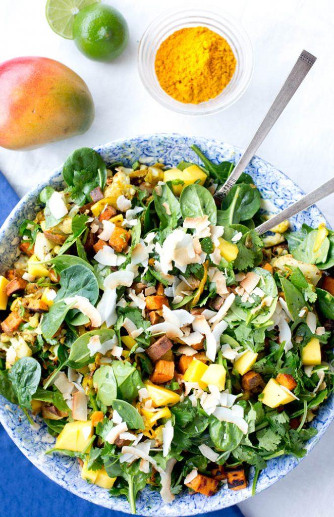 Sweet Potato Salad | Whole30 Indian Recipes