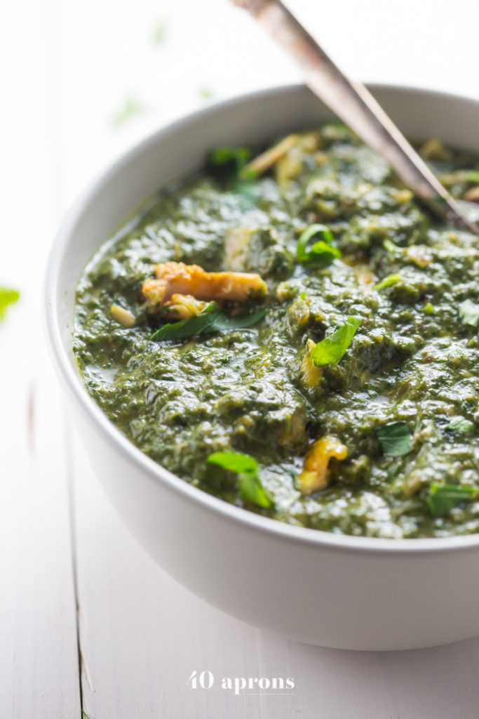 Indian Saag Chicken Recipe | Whole30 Indian Recipes