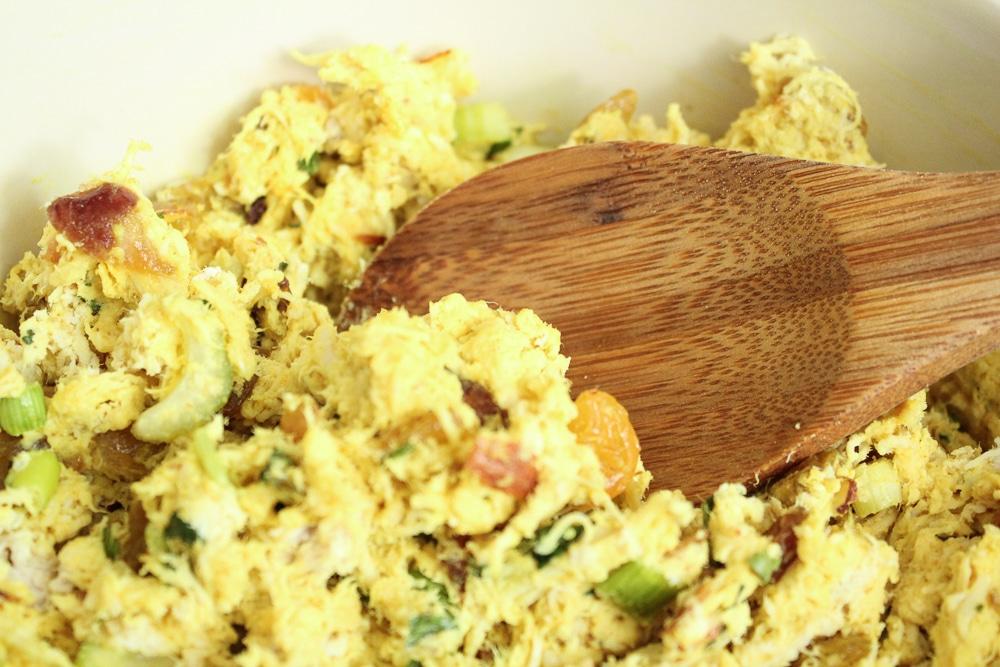 Curry Chicken Salad with Raisins Recipe Whole30 Paleo