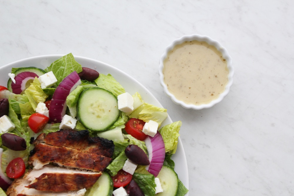 Greek Salad Dressing Recipe (Whole30 + Paleo)