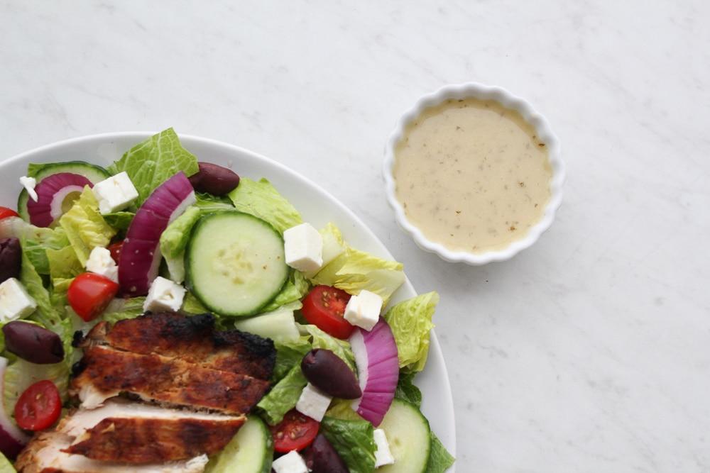 Greek Salad Dressing Recipe (Whole30 + Paleo)