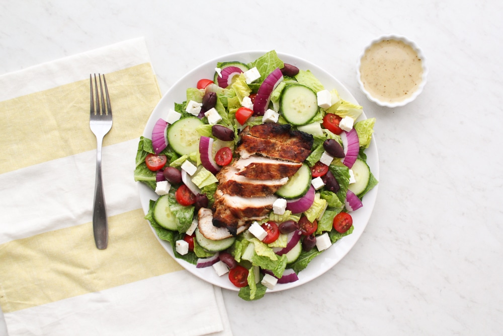 Greek Salad Recipe (Paleo + Whole30)