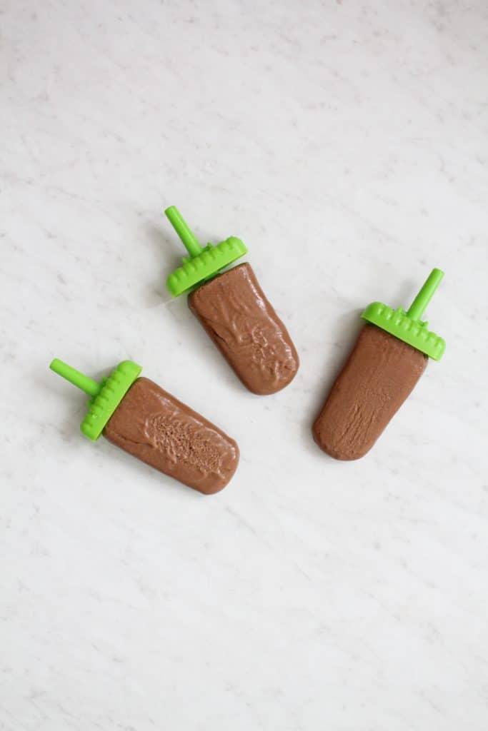 Healthy Mocha Popsicles Recipe (Paleo + Diary Free)