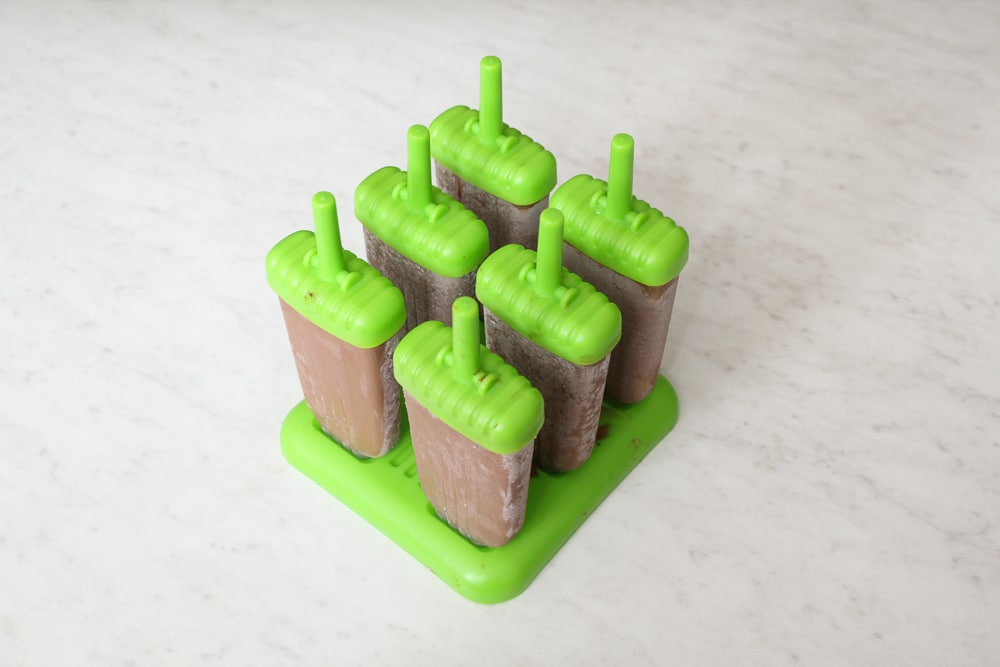 Healthy Mocha Popsicles Recipe (Paleo + Diary Free)