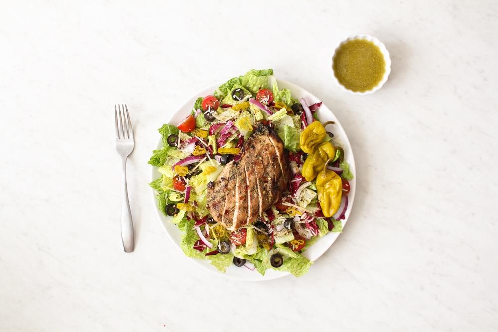 Whole30 Italian Salad