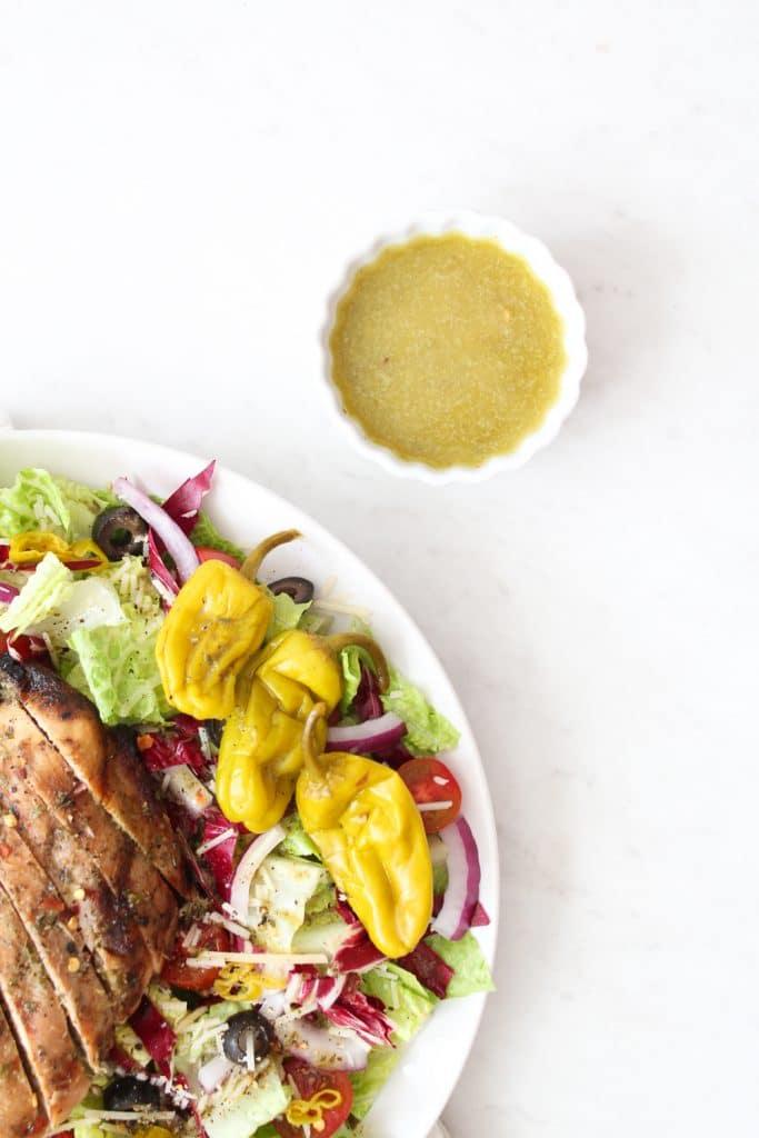 Italian Salad Dressing Recipe (Whole30 + Paleo)