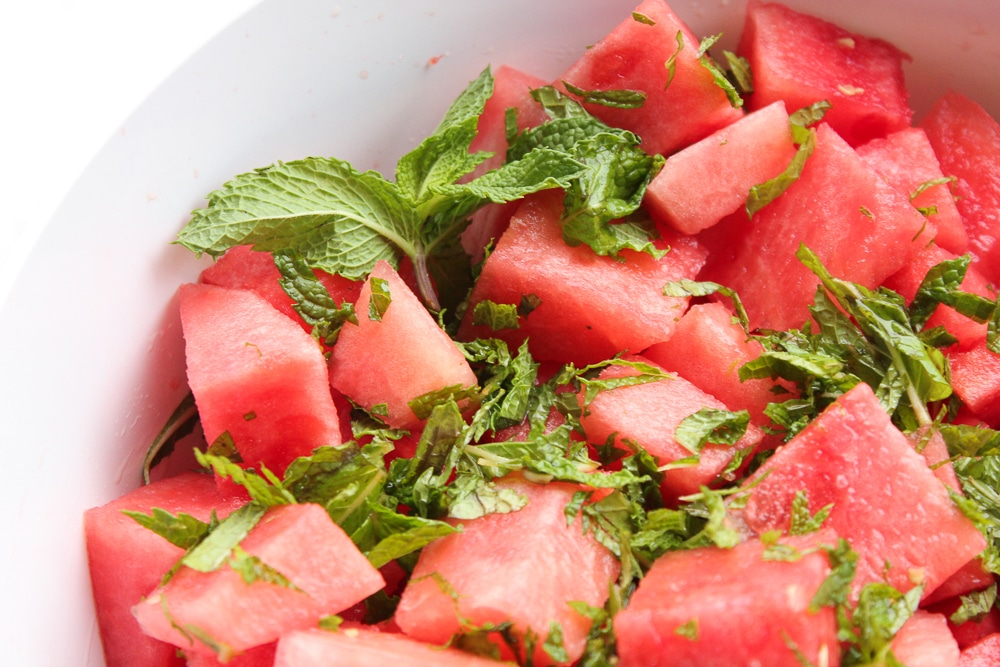 Mint and Watermelon