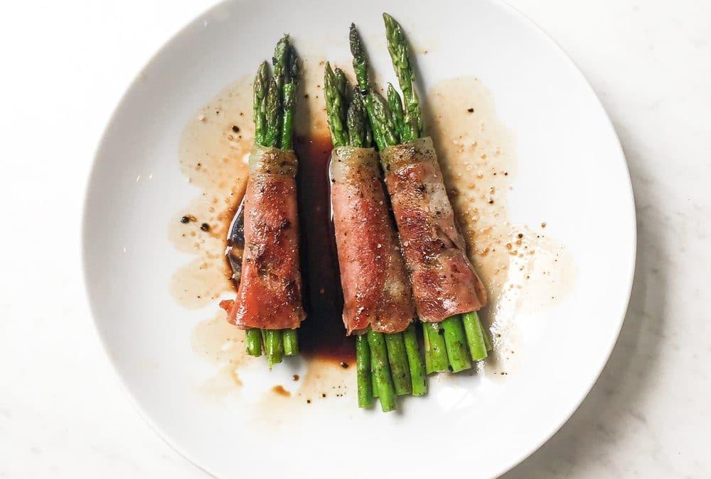 Prosciutto Wrapped Asparagus Recipe Whole30 Paleo