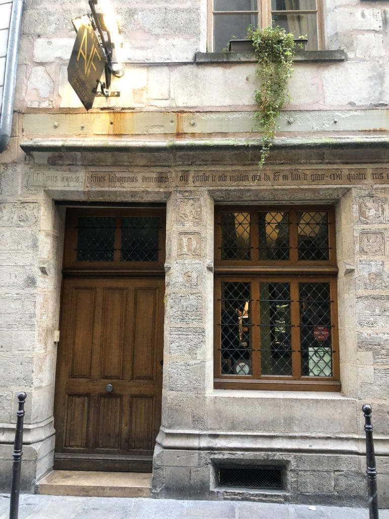 Places to Eat in Paris Auberge Nicolas Flamel