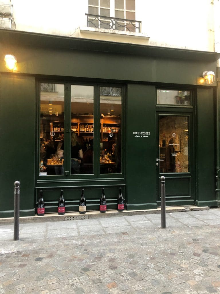 Places to Eat in Paris Frenchie Bar