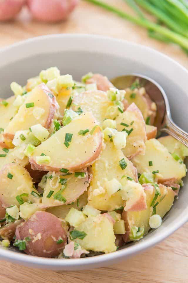 Whole30 + Paleo potato salad recipes | red potato salad recipe