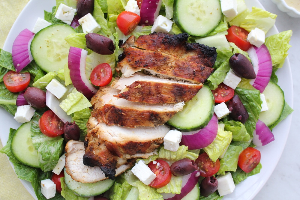 Paleo + Whole30 Greek Salad recipe