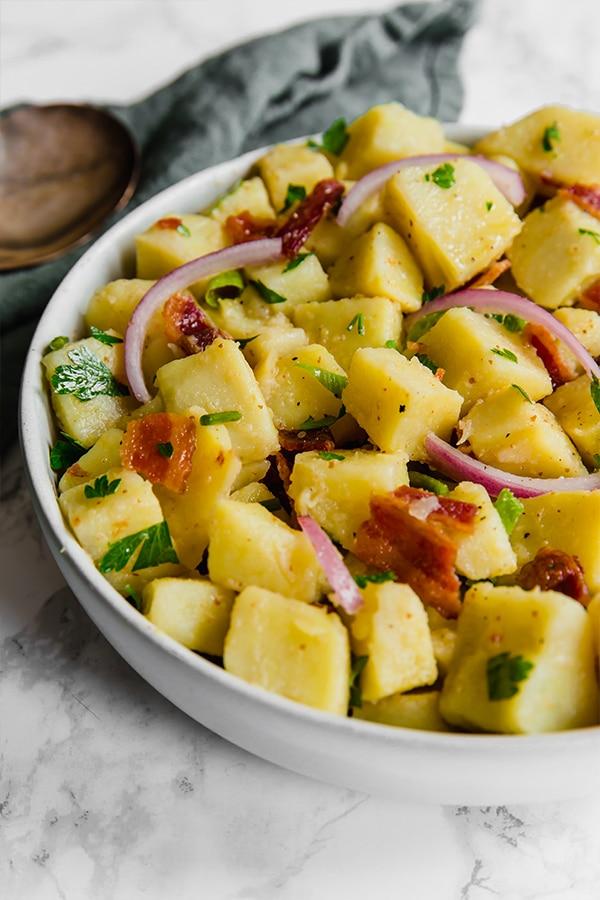 Whole30 + Paleo potato salad recipes | No mayo potato salad recipe