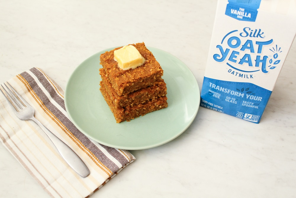 Gluten Free Pumpkin Spice Oatmeal Bars Recipe-12