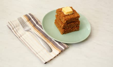 Gluten Free Pumpkin Spice Oatmeal Bars Recipe