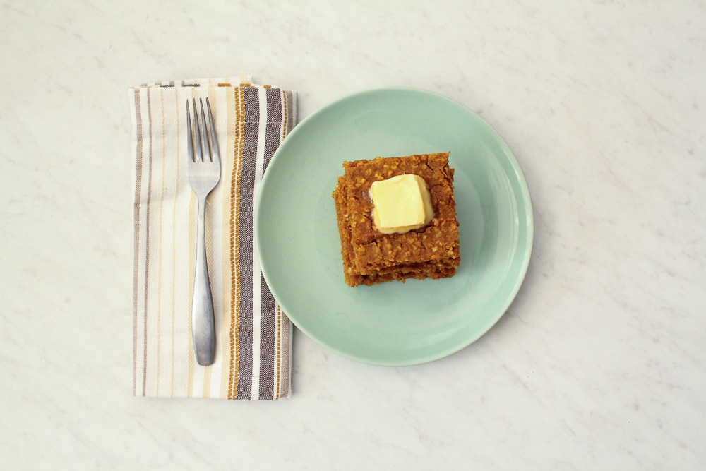 Gluten Free Pumpkin Spice Oatmeal Bars Recipe-14