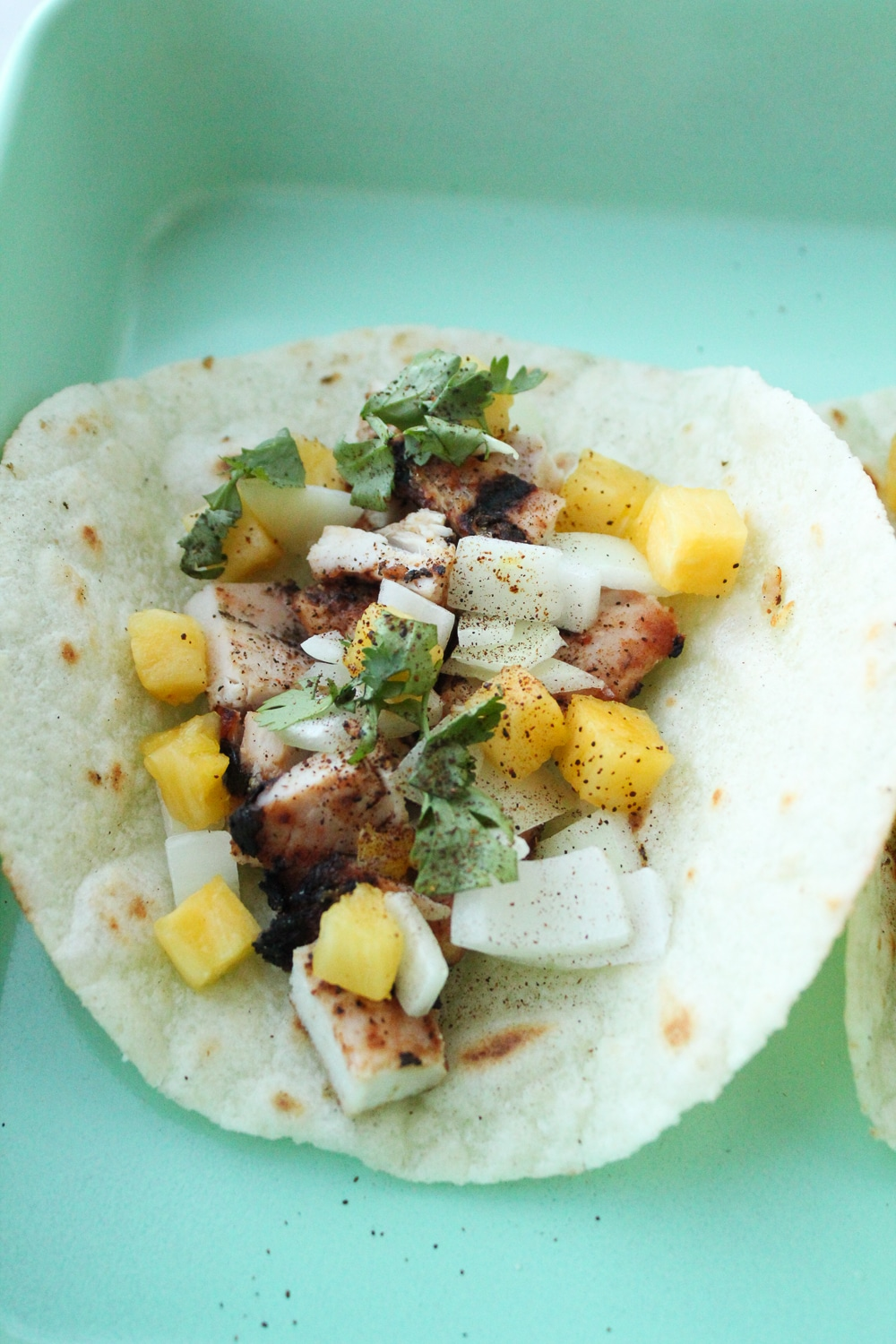 Chicken Tacos Al Pastor Whole30 Paleo