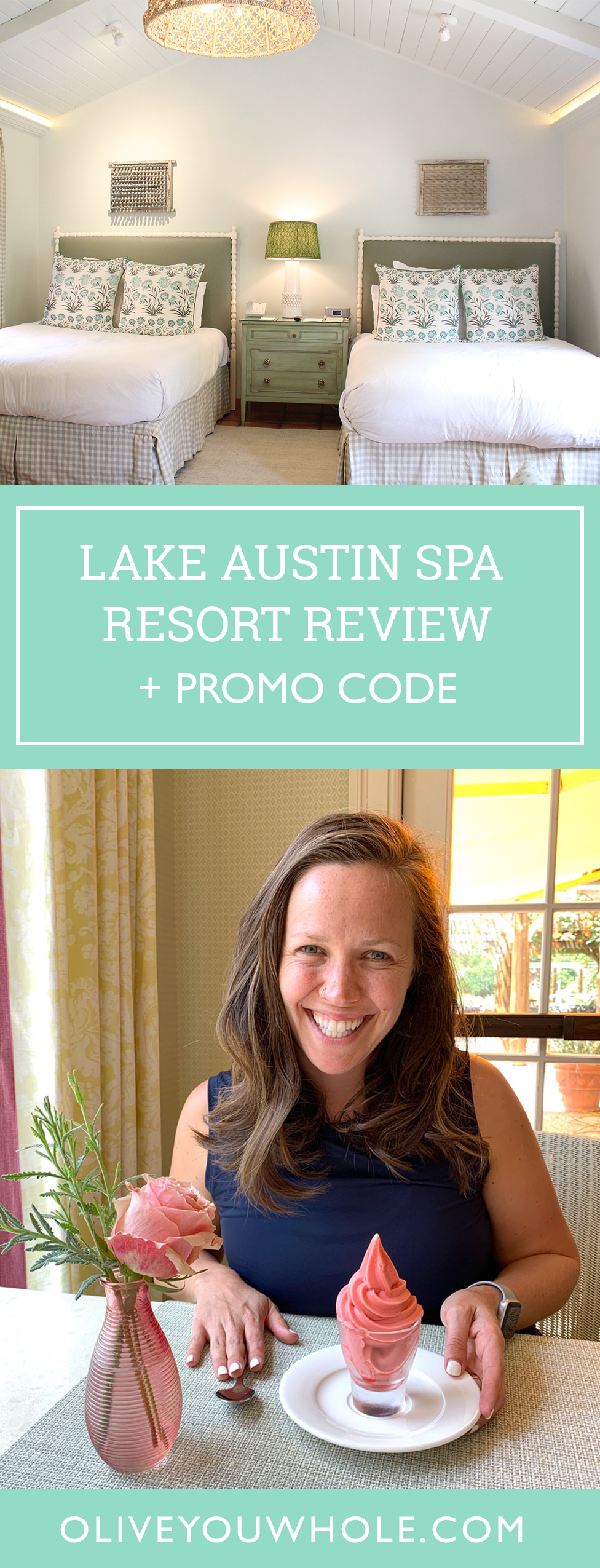 Lake Austin Spa Resort Review Promo Code Pin