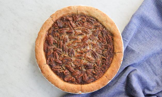 Paleo Pecan Pie Recipe | Grain + Gluten Free