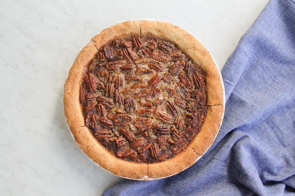 Paleo Pecan Pie Recipe | Grain + Gluten Free
