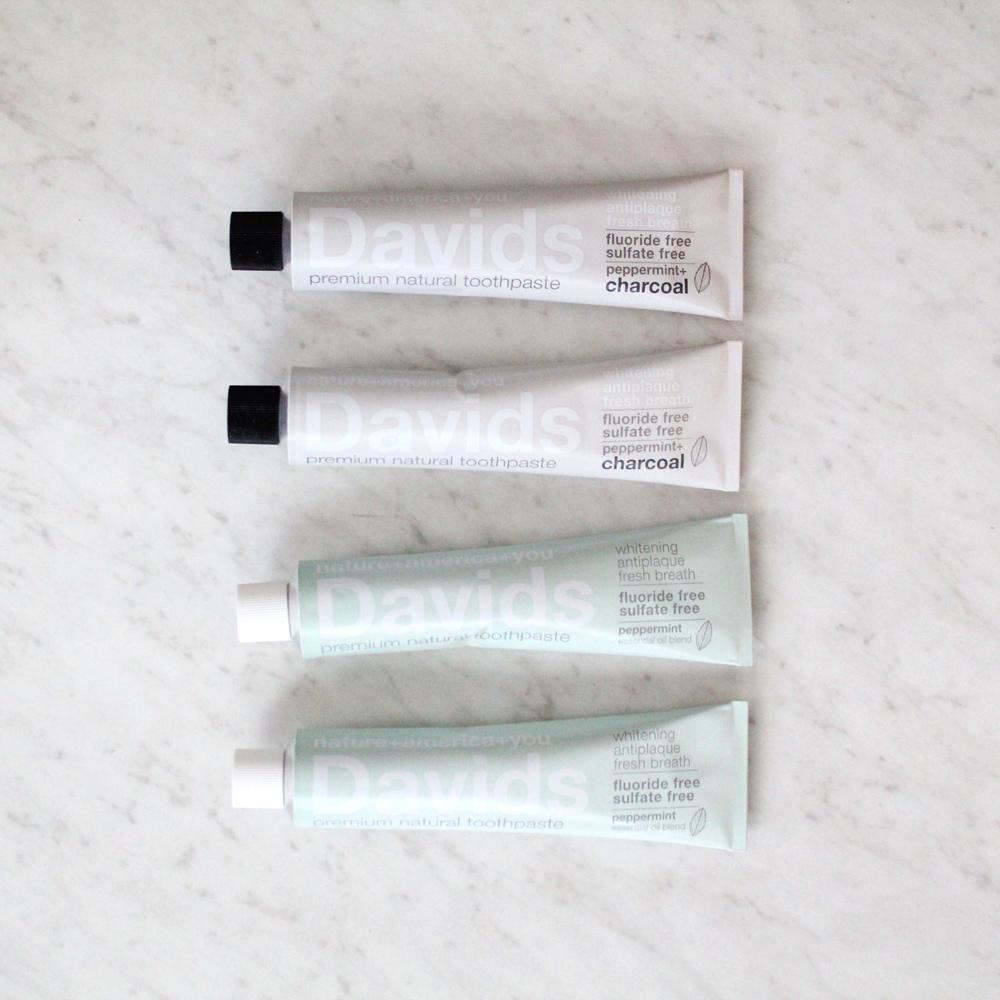 Davids Toothpaste Giveaway