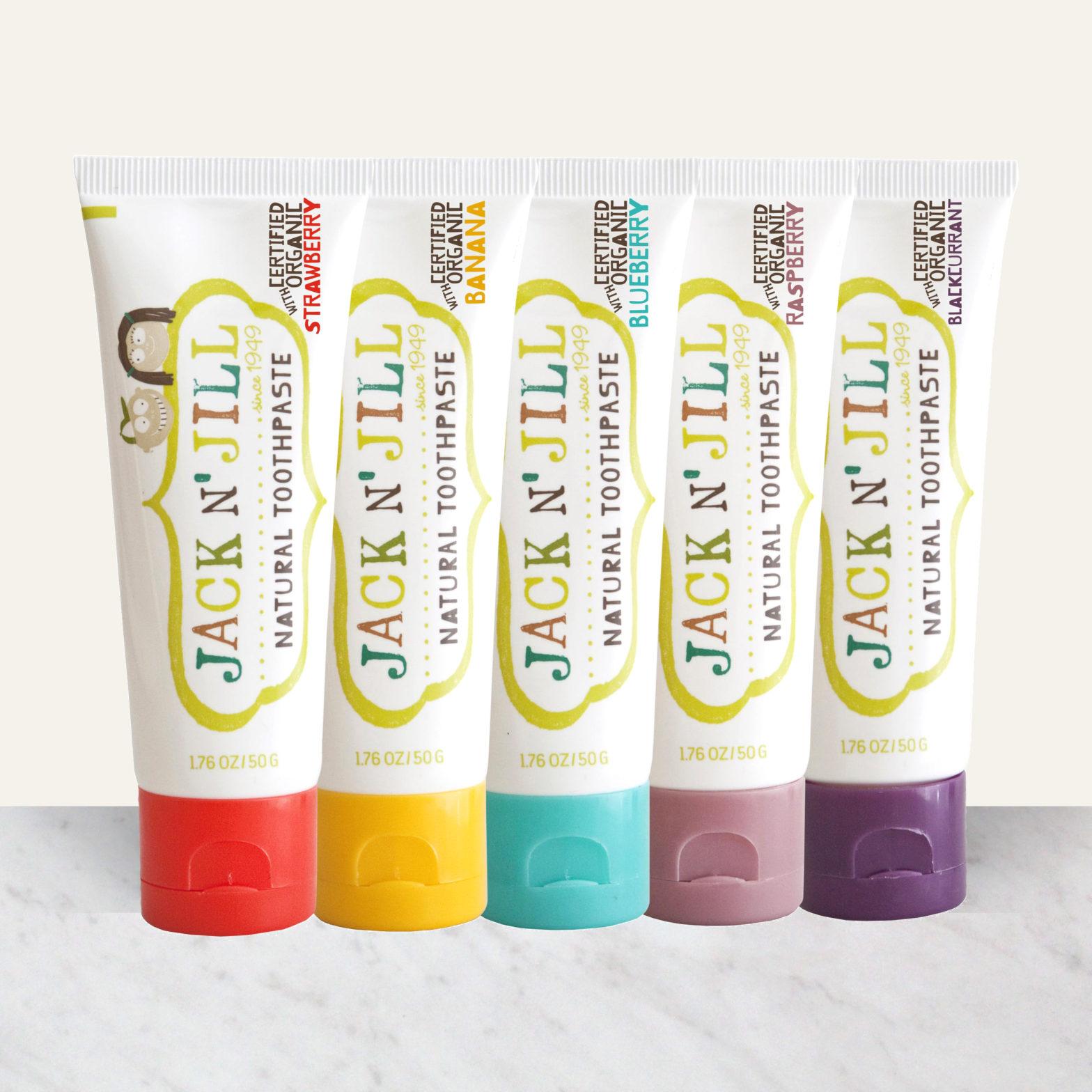 Jack N' Jill Natural Toothpaste Giveaway