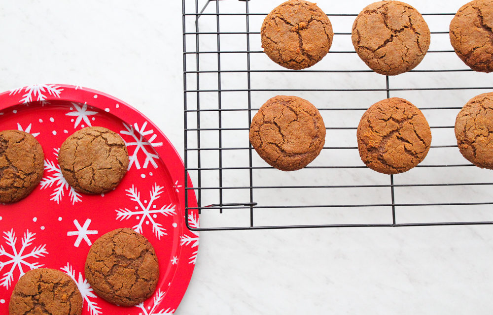 Paleo Molasses Cookies Recipe