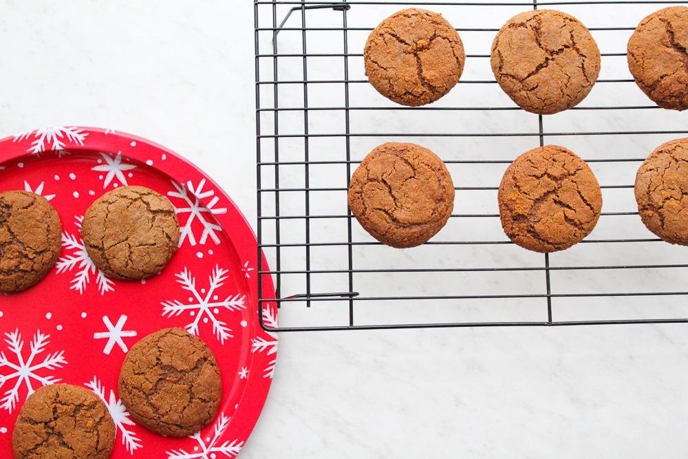 Paleo Molasses Cookies Recipe