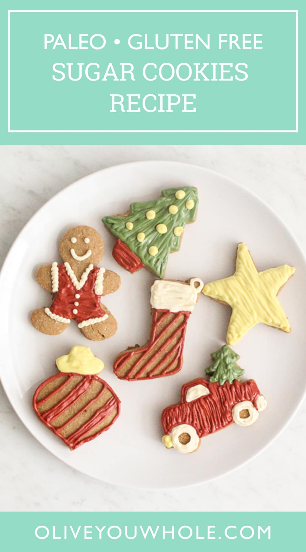 Paleo Sugar Cookies Recipe Pinterest