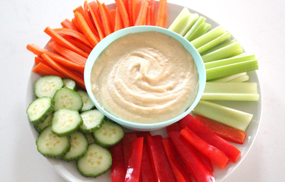 Cashew Hummus Recipe (Whole30 + Paleo + Keto)