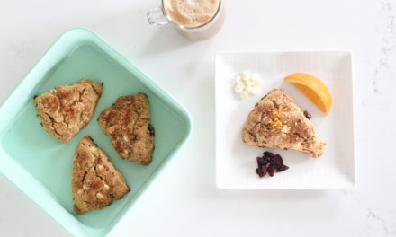 Orange Cranberry White Chocolate Scones Recipe (Gluten Free + Dairy Free)