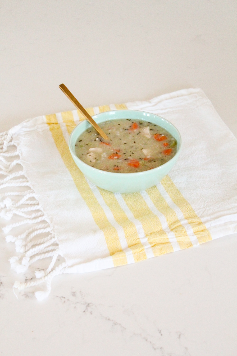 Creamy Chicken and Rice Soup Recipe Paleo Whole30