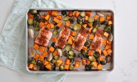Orange Harissa Sheet Pan Salmon Recipe (Whole30 + Paleo)