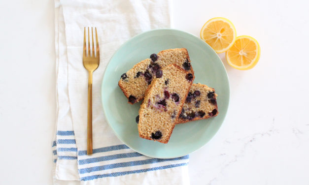 Paleo Lemon Blueberry Cake Recipe