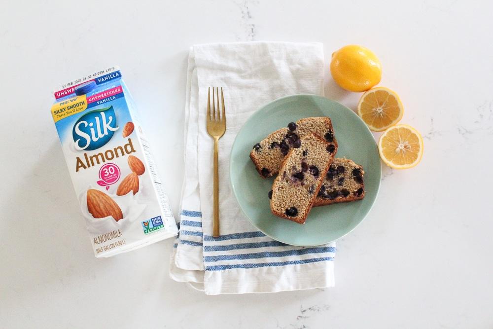 Paleo Lemon Blueberry Cake Recipe
