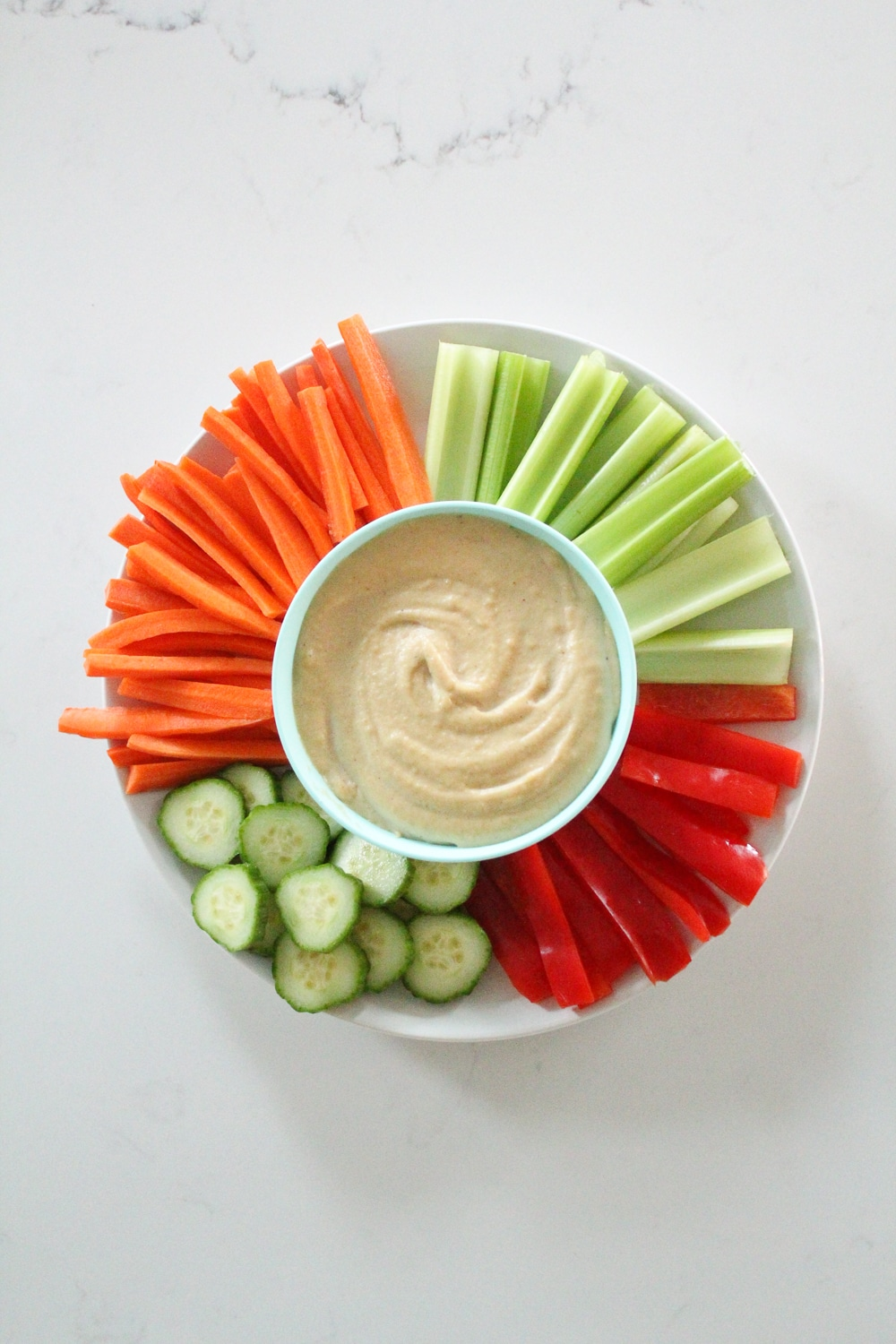 Cauliflower Cashew Hummus Recipe Paleo Whole30-3