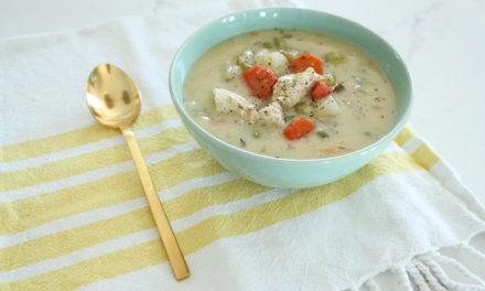 Chicken Pot Pie Soup Recipe (Whole30 + Paleo)