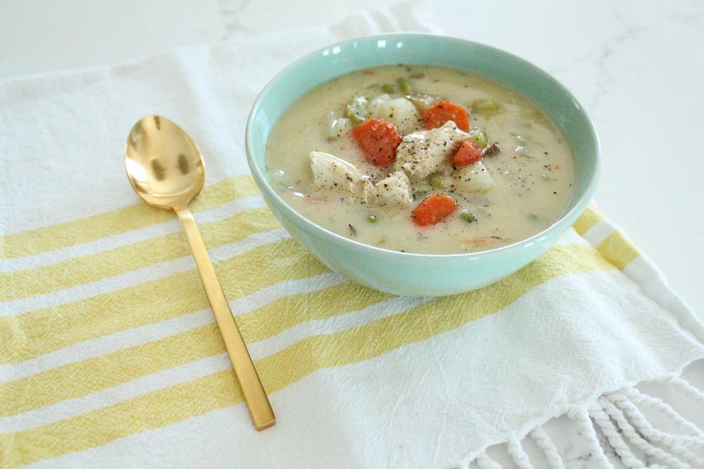Chicken Pot Pie Soup Recipe (Whole30 + Paleo)