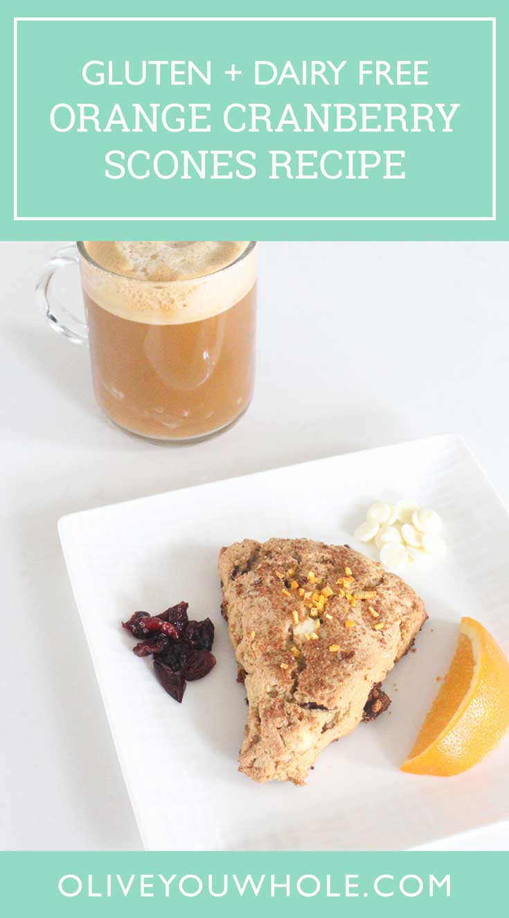 Cranberry Orange Scones Recipe Pinterest