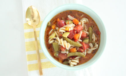 Gluten Free Minestrone Recipe (Vegan + Vegetarian)