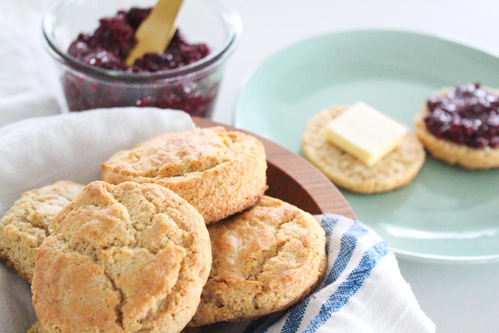 Gluten Free Yogurt Biscuits Recipe