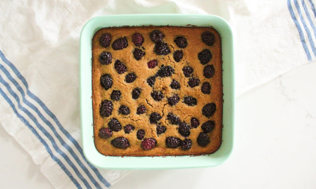 Paleo Blackberry Cobbler Recipe