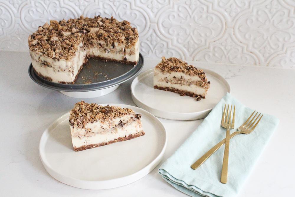 Chocolate Chip Cookie Ice Box Cake Recipe (Gluten & Dairy Free)